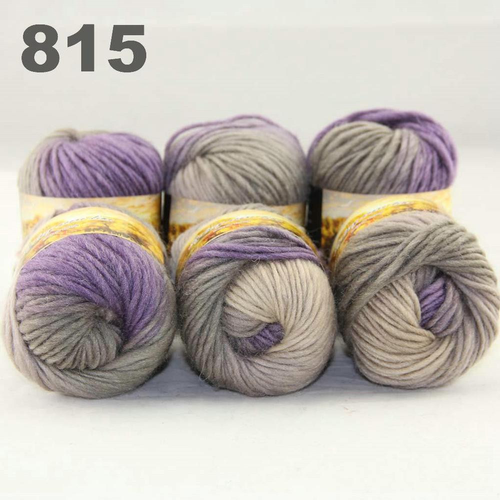 Wool for Sale Luxury Sale Lot 6ballsx50gr New Chunky Hand Woven Colors Knitting Of Amazing 50 Models Wool for Sale