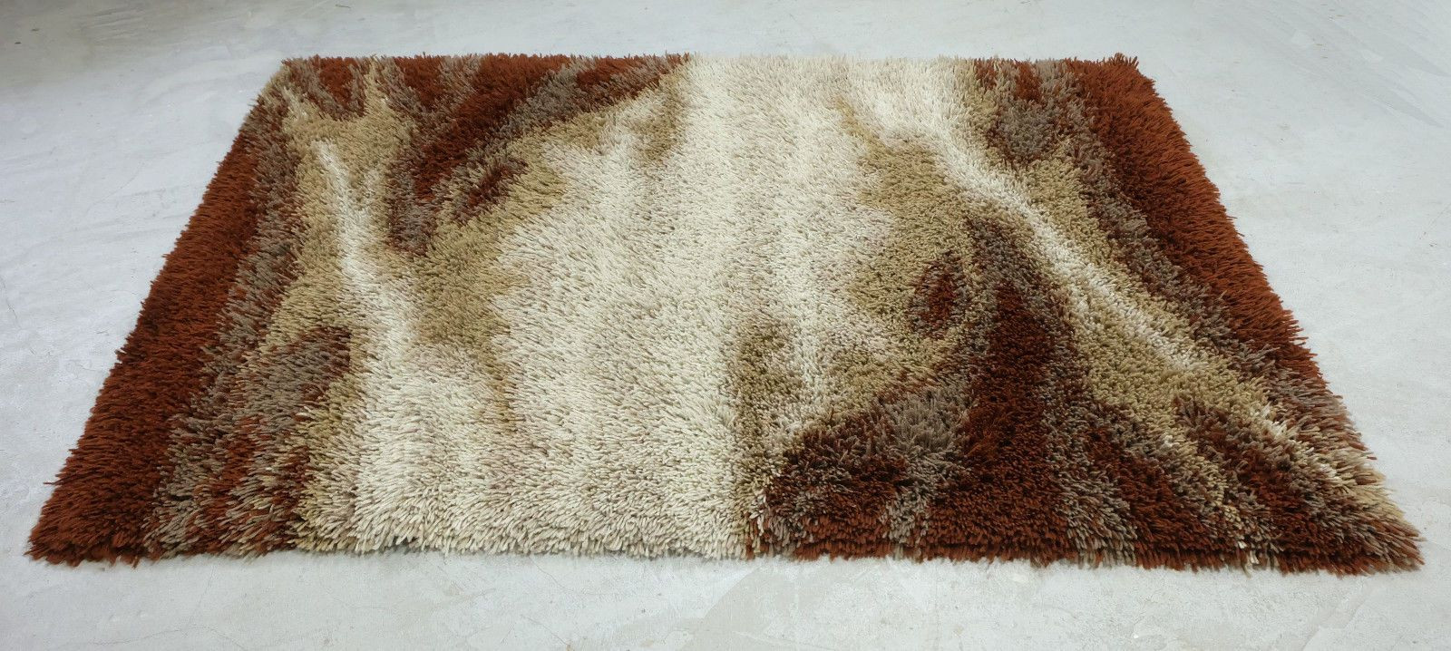 Wool for Sale New Shag Wool Rug In Earth Colors 1970s for Sale at Pamono Of Amazing 50 Models Wool for Sale