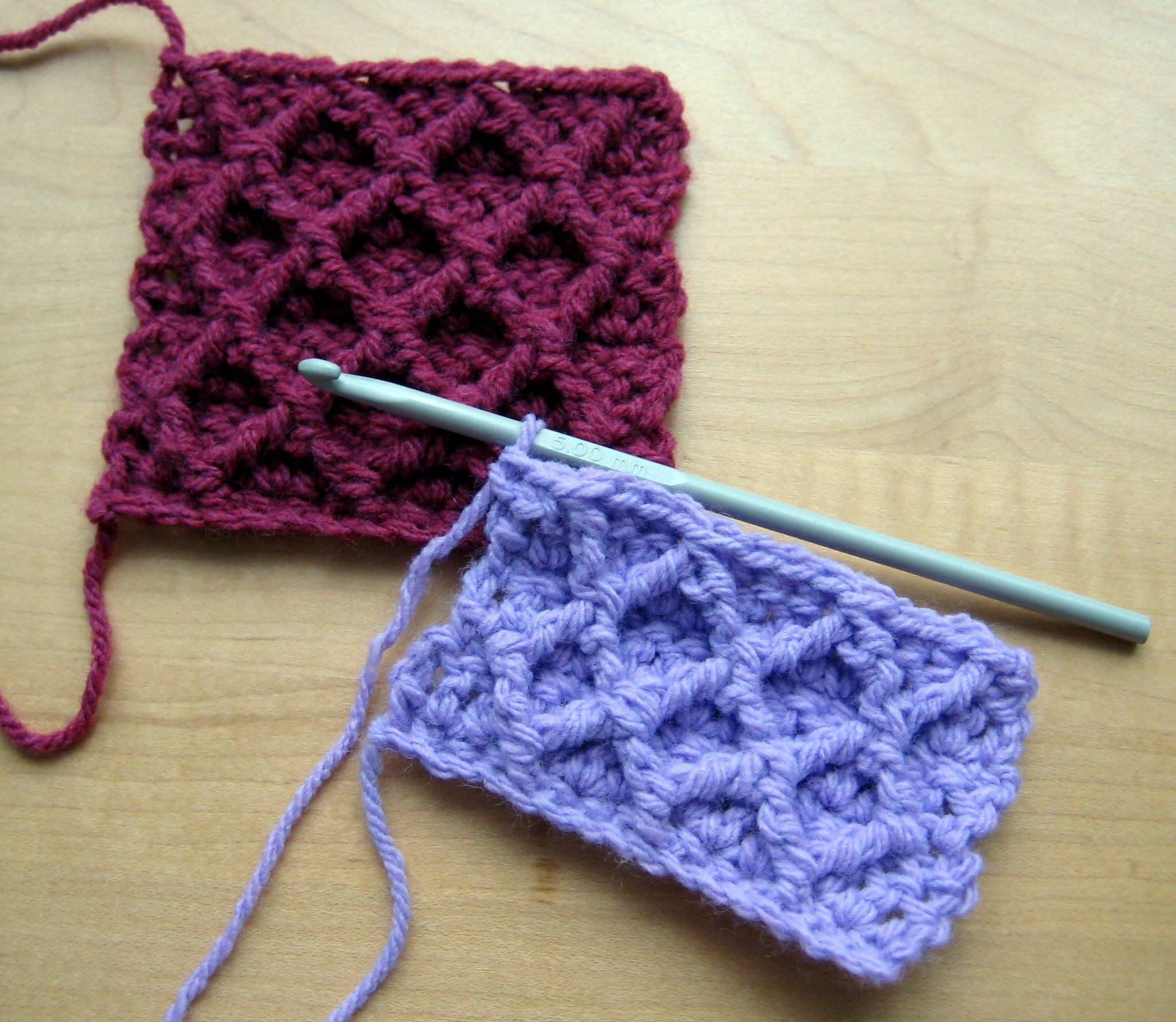 Written Crochet Patterns Beautiful A Tutorial On How to Crochet the Diamond Trellis Stitch Of Beautiful 42 Ideas Written Crochet Patterns