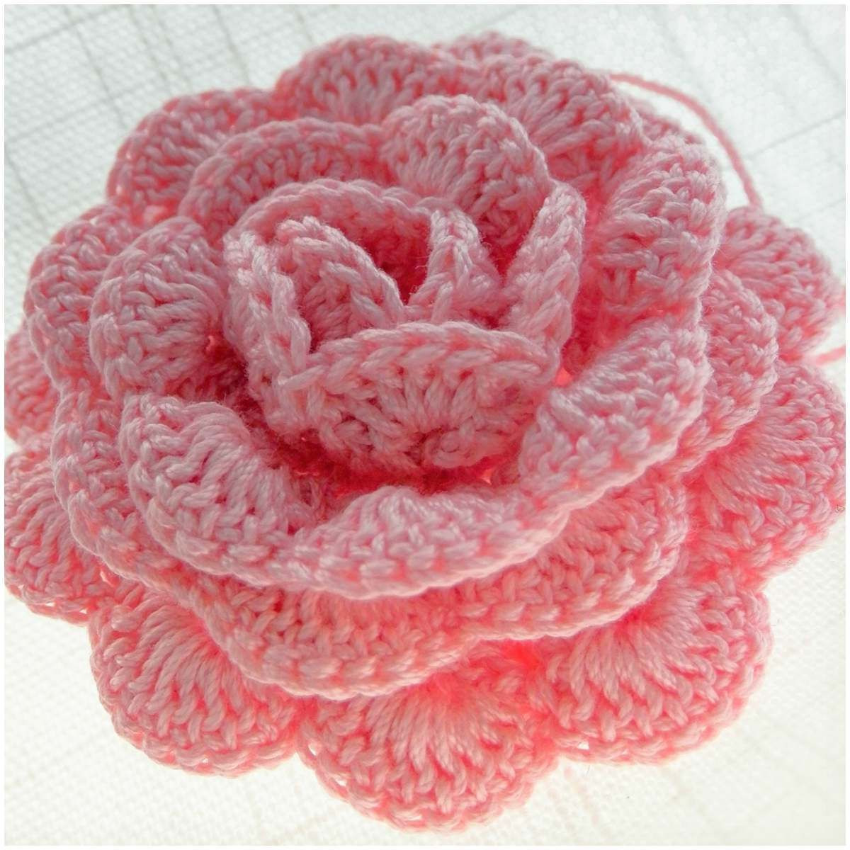 Written Crochet Patterns Beautiful Crochet Rose [written Pattern and Video Tutorial] 3d Of Beautiful 42 Ideas Written Crochet Patterns