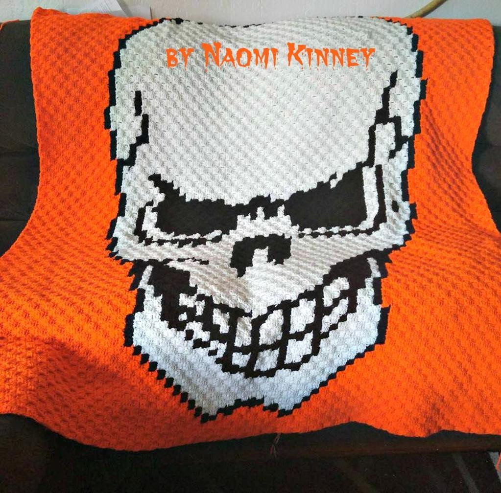 Written Crochet Patterns Beautiful Skull Afghan C2c Graph and Written Word by C2cgraphs Craftsy Of Beautiful 42 Ideas Written Crochet Patterns