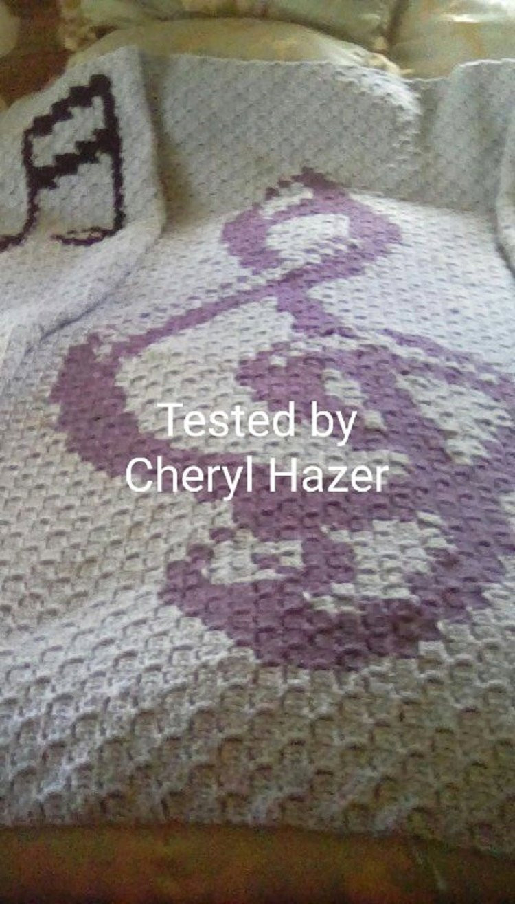 Written Crochet Patterns Lovely Musical Afghan C2c Graph Written Word Chart Crochet Pattern Of Beautiful 42 Ideas Written Crochet Patterns