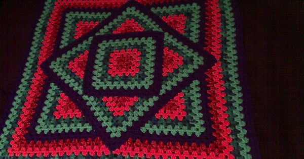 Written Crochet Patterns Lovely Squared Diamond Granny Throw – Written Pattern Of Beautiful 42 Ideas Written Crochet Patterns