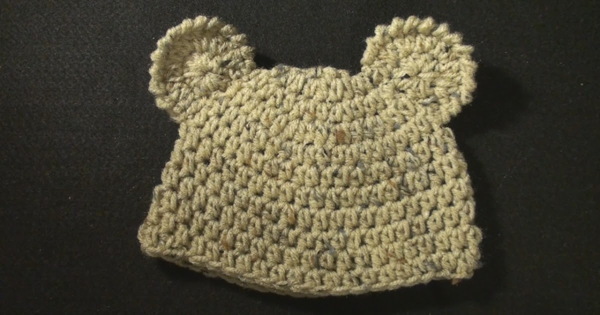 Written Crochet Patterns New Crochet Geek Crochet Cap with Bear Ears Small Infant Of Beautiful 42 Ideas Written Crochet Patterns