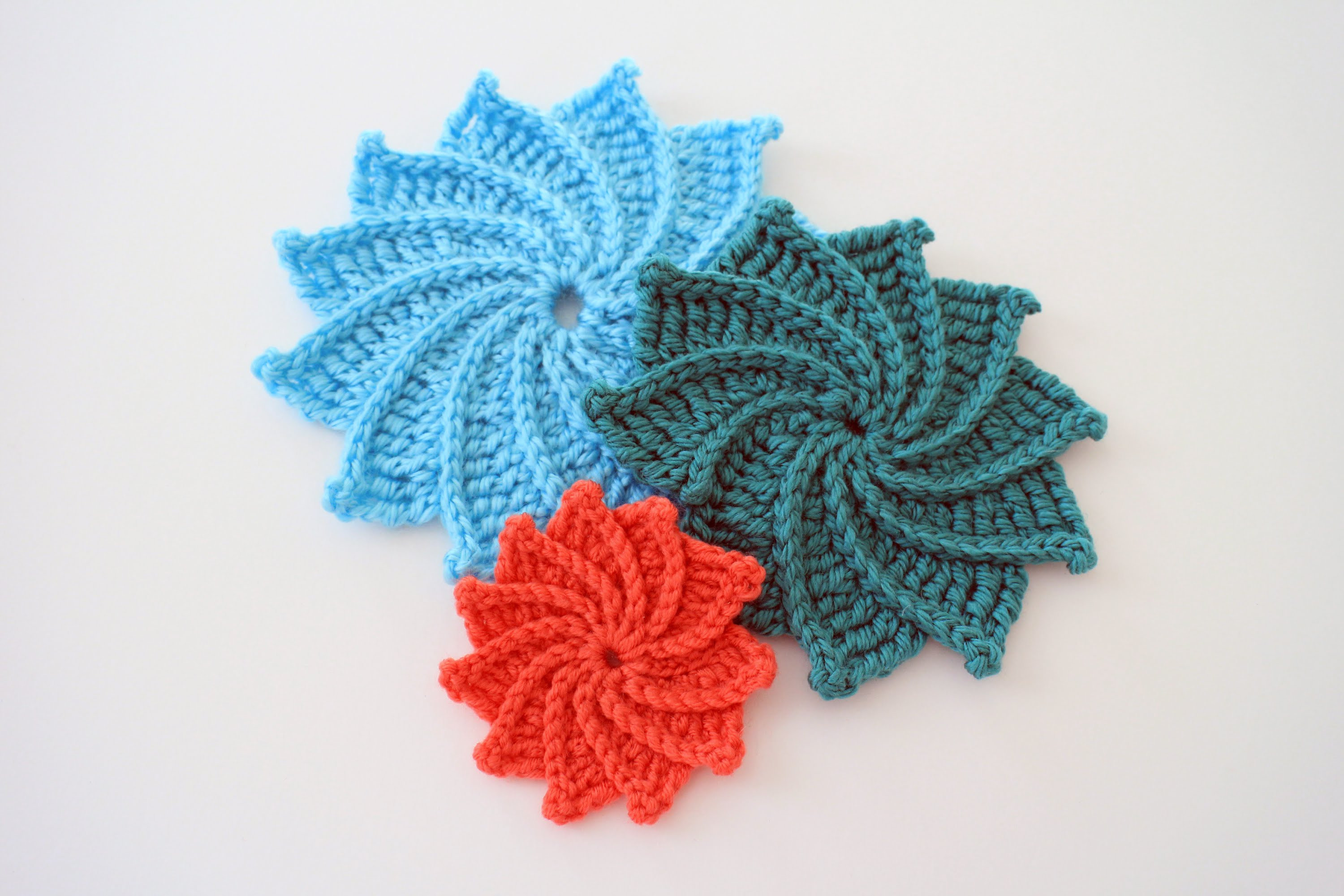 Written Crochet Patterns Unique How to Crochet the Spiral Crochet Flower Video Tutorial Of Beautiful 42 Ideas Written Crochet Patterns