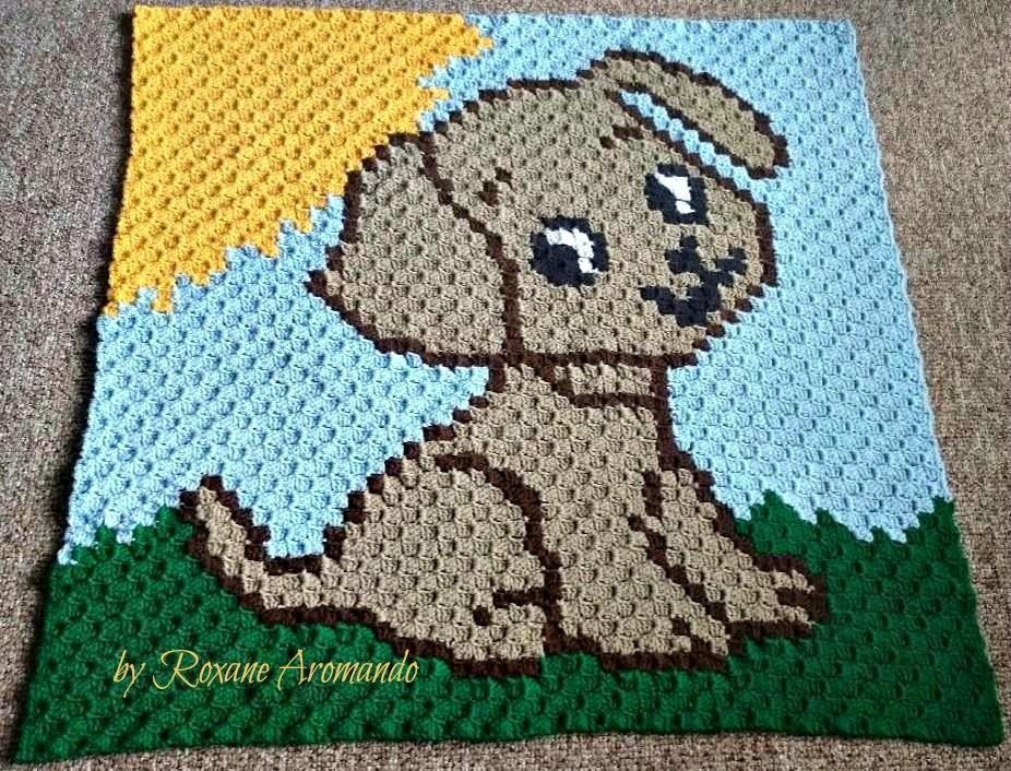 Written Crochet Patterns Unique Puppy Baby Blanket C2c Graph & Written by C2cgraphs Craftsy Of Beautiful 42 Ideas Written Crochet Patterns