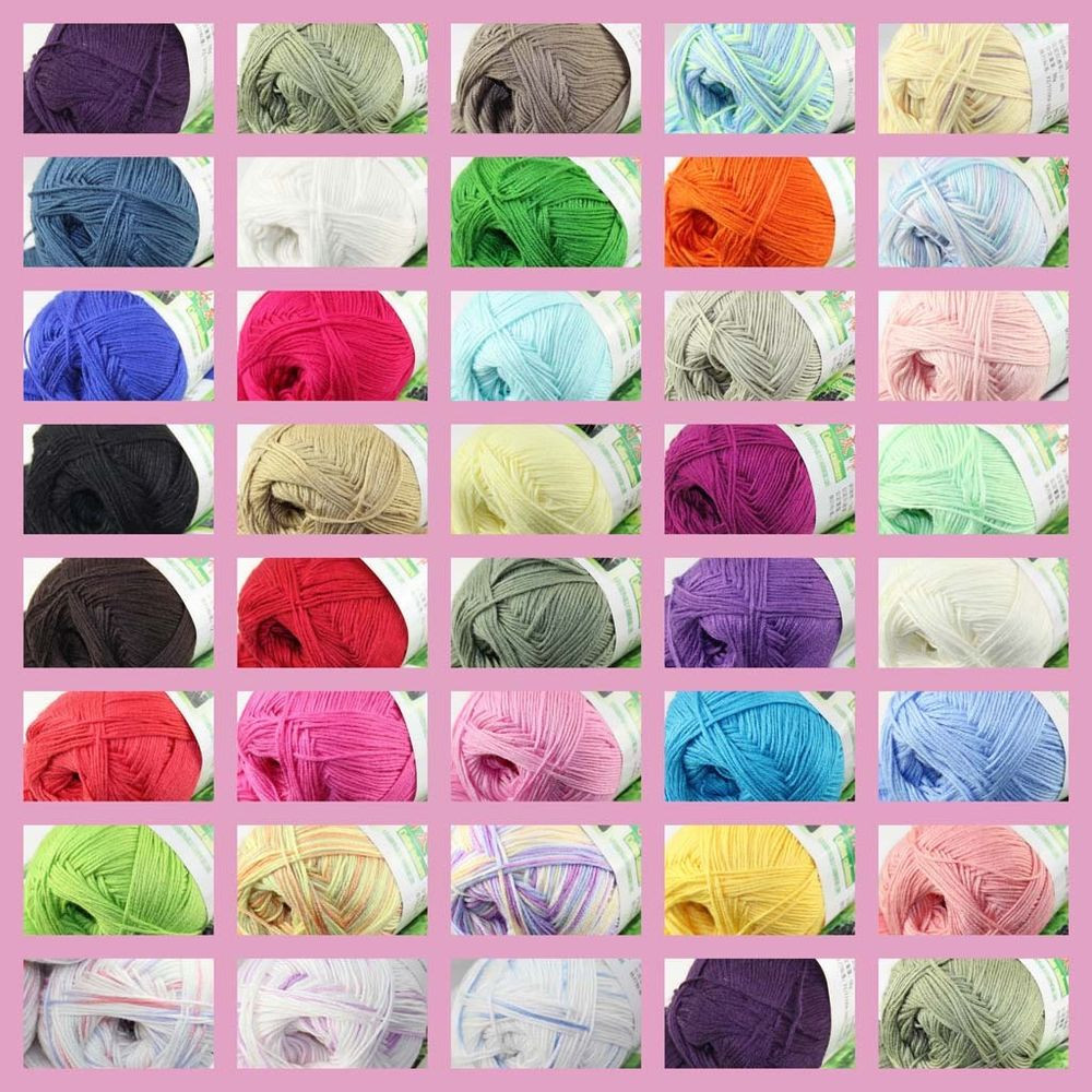 Yarn Sale Beautiful Sale New 1 Skein X 50g Super soft Bamboo Cotton Baby Hand Of Amazing 49 Pictures Yarn Sale