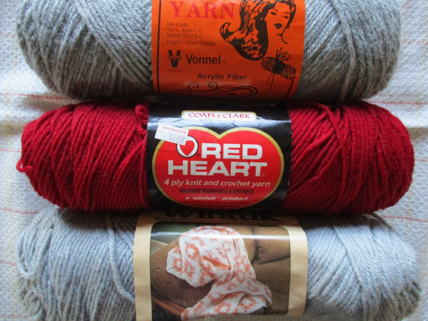 Yarn Weight 3 Awesome Vintage Yarn Worsted Weight Acrylic 3 New Skeins Grey by Of Fresh 45 Photos Yarn Weight 3
