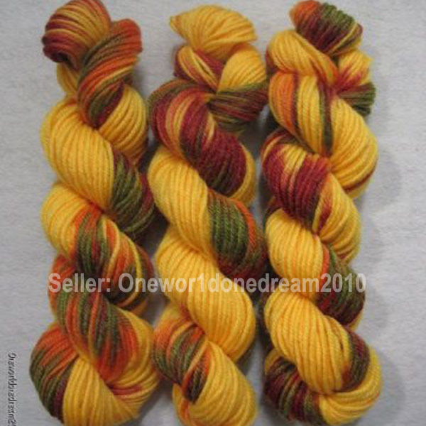 Yarn Weight 3 Luxury New 3 Skeins Hand Dyed Multi Color 8 Ply Worsted Weight Of Fresh 45 Photos Yarn Weight 3