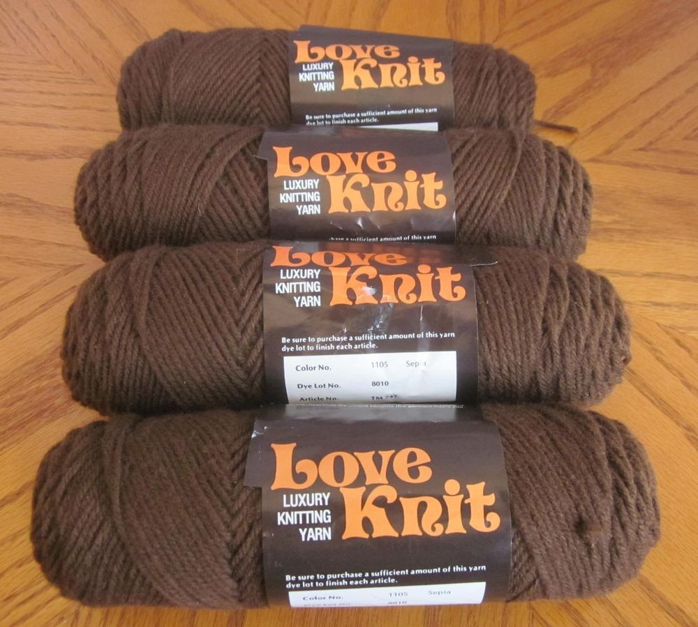 Yarn Weight 4 Lovely Vonnel Love Knit 4 Skeins Sepia Yarn Worsted Weight 4 Ply Of Beautiful 50 Photos Yarn Weight 4