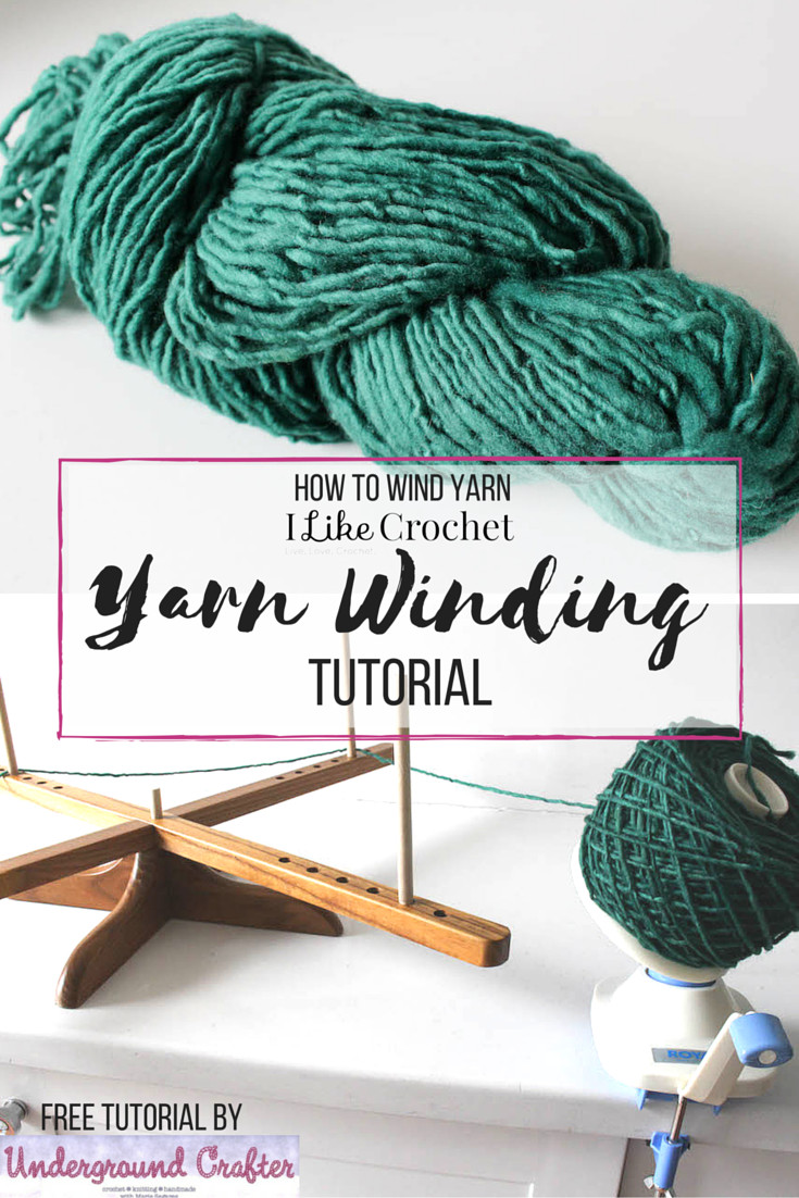 Yarn Winder Inspirational How to Wind Yarn Into A Cake Tutorial I Like Crochet Of Fresh 44 Photos Yarn Winder