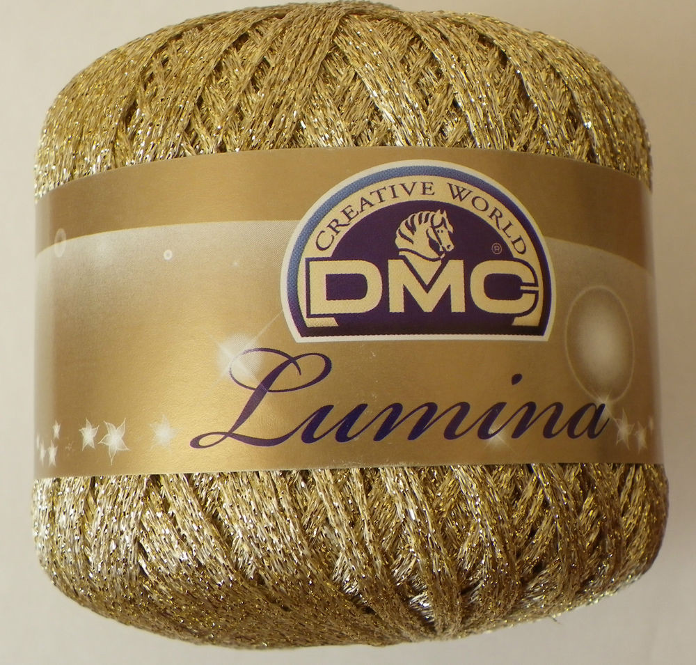 Yarn with Metallic Thread Awesome Dmc Lumina Crochet Thread Metallic Gold L3821 Of Lovely 44 Pics Yarn with Metallic Thread