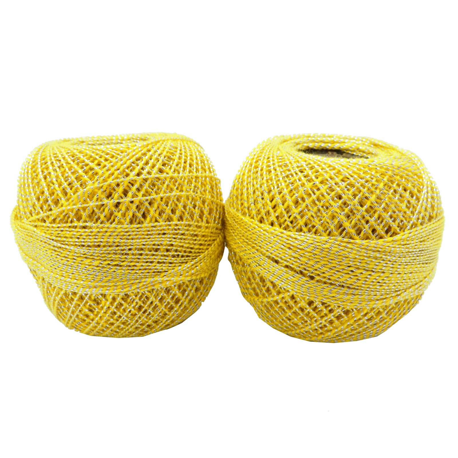 Yarn with Metallic Thread Lovely Cotton Crochet Thread Metallic Embroidery Mercerized Yarn Of Lovely 44 Pics Yarn with Metallic Thread