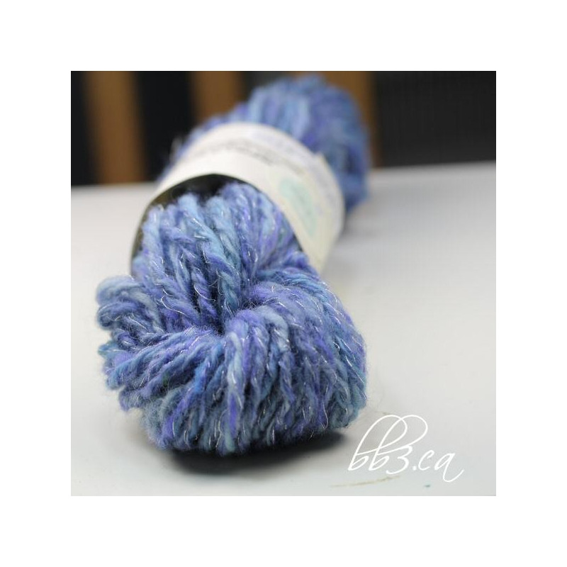 Yarn with Metallic Thread Luxury sold Out Handspun Yarn Blue Romney & Silver Metallic Of Lovely 44 Pics Yarn with Metallic Thread