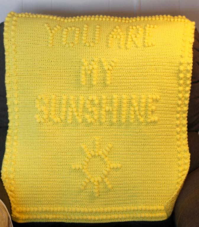 You are My Sunshine Blanket Beautiful You are My Sunshine Baby Blanket by Marilyn Sehn Craftsy Of Luxury 29 Models You are My Sunshine Blanket