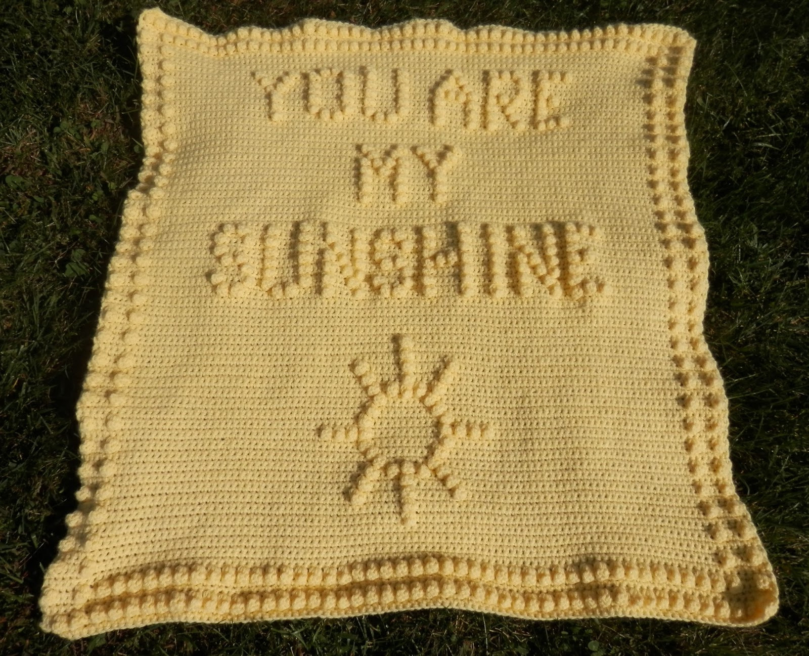 You are My Sunshine Crochet Blanket Awesome Karens Crocheted Garden Of Colors You are My Sunshine Of Fresh 41 Ideas You are My Sunshine Crochet Blanket