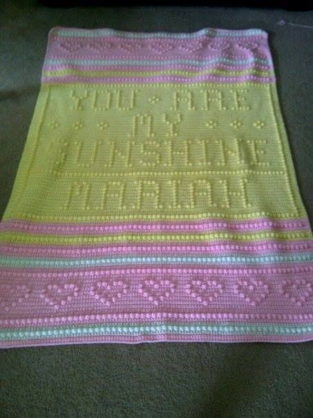 You are My Sunshine Crochet Blanket Inspirational You are My Sunshine Personalized Crib Afghan Of Fresh 41 Ideas You are My Sunshine Crochet Blanket