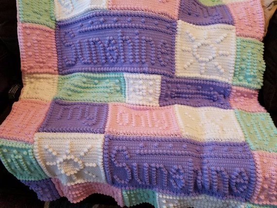 You are My Sunshine Crochet Blanket Lovely You are My Sunshine Crochet Baby Blanket Of Fresh 41 Ideas You are My Sunshine Crochet Blanket