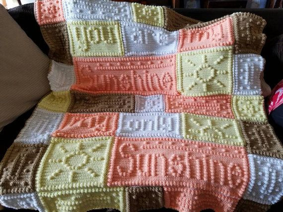 You are My Sunshine Crochet Pattern Awesome You are My Sunshine Crochet Baby Blanket by Of Unique 46 Models You are My Sunshine Crochet Pattern