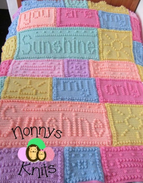 You are My Sunshine Crochet Pattern Awesome You are My Sunshine Crochet Blanket Pattern Of Unique 46 Models You are My Sunshine Crochet Pattern