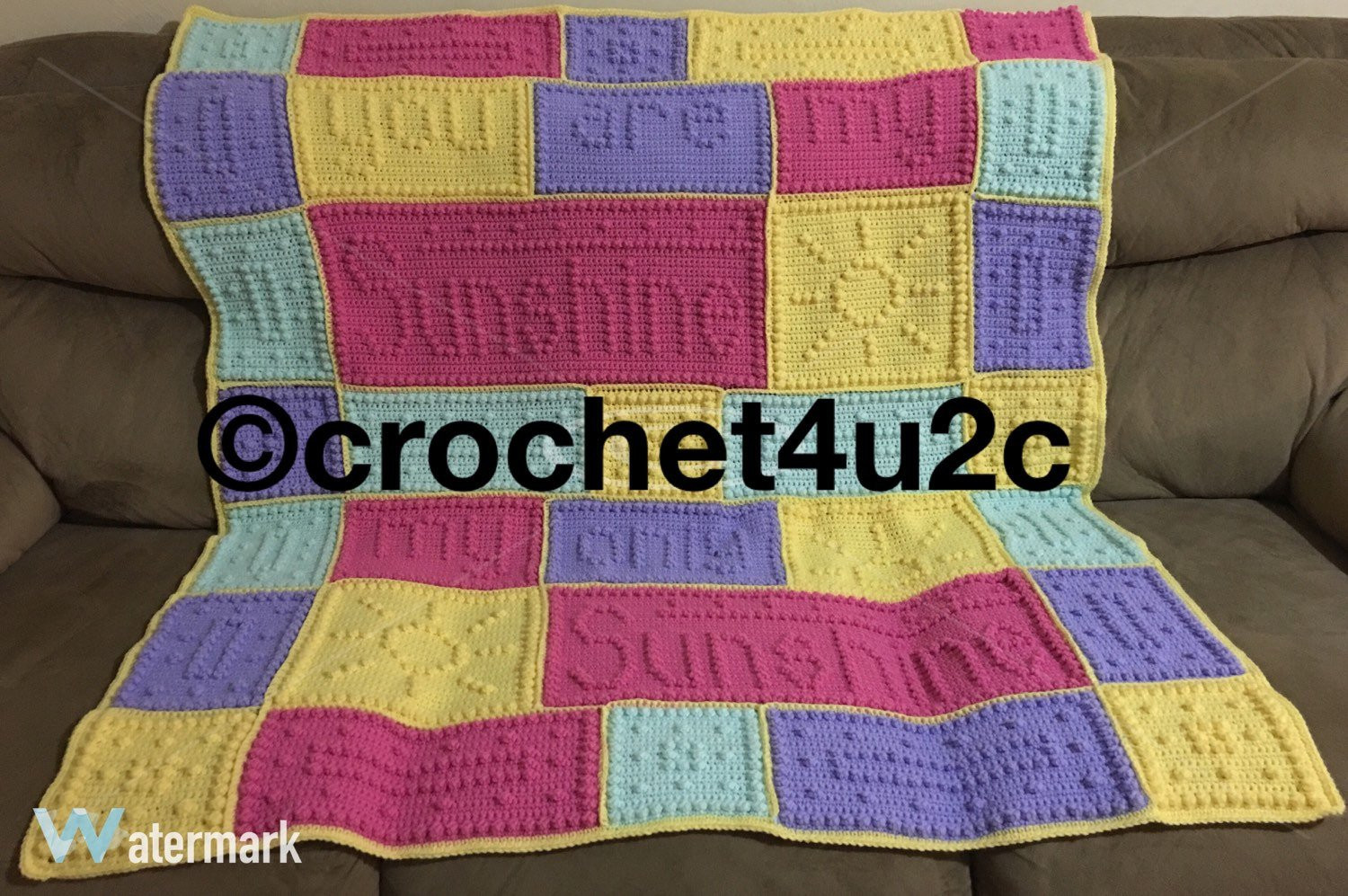 You are My Sunshine Crochet Pattern Beautiful Crochet Pattern for You are My Sunshine Blanket Pakbit for Of Unique 46 Models You are My Sunshine Crochet Pattern