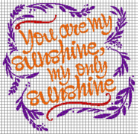 You are My Sunshine Crochet Pattern Elegant You are My Sunshine Graph and Row by Row Written Of Unique 46 Models You are My Sunshine Crochet Pattern