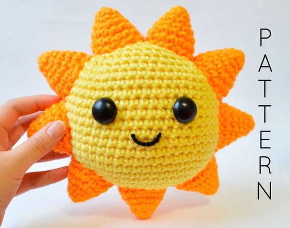 You are My Sunshine Crochet Pattern Inspirational Mr Sunshine Crochet Pattern You are My by Bunniesandyarn Of Unique 46 Models You are My Sunshine Crochet Pattern