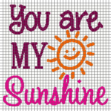 You are My Sunshine Crochet Pattern Inspirational You are My Sunshine Graph and Row by Row Written Crochet Of Unique 46 Models You are My Sunshine Crochet Pattern