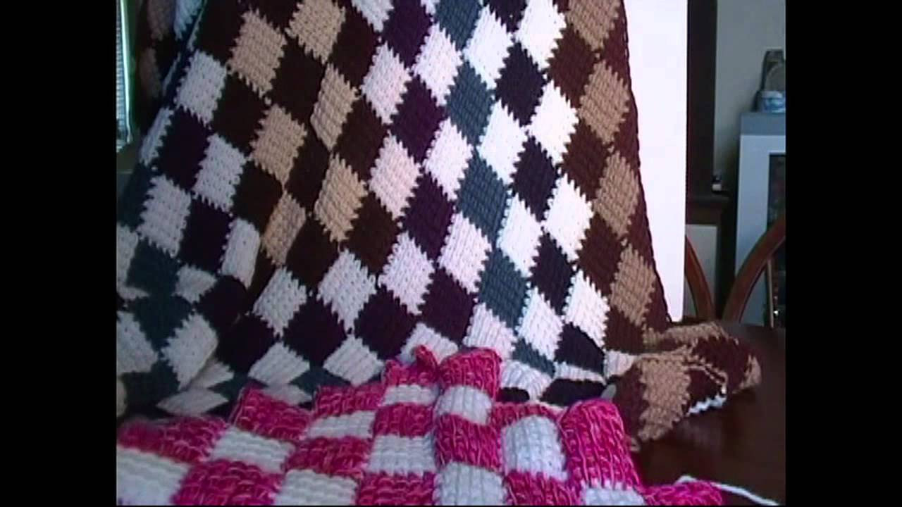 Youtube Crochet Awesome Entrelac Crochet Blanket Introduction Of Brilliant 46 Pictures Youtube Crochet