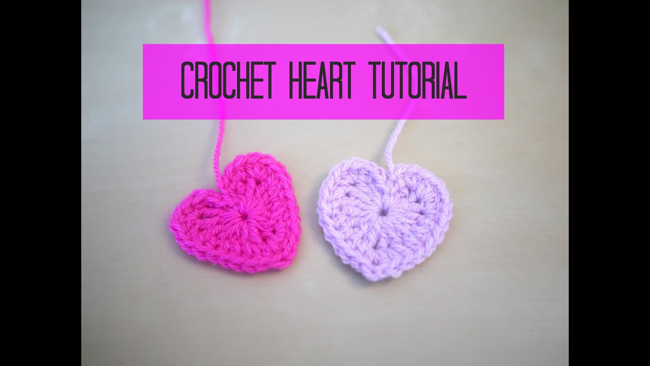 Youtube Crochet Best Of Crochet Heart Tutorial Of Brilliant 46 Pictures Youtube Crochet