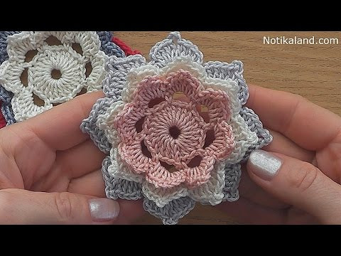 Youtube Crochet Elegant Crochet Flower Tutorial Very Easy Of Brilliant 46 Pictures Youtube Crochet