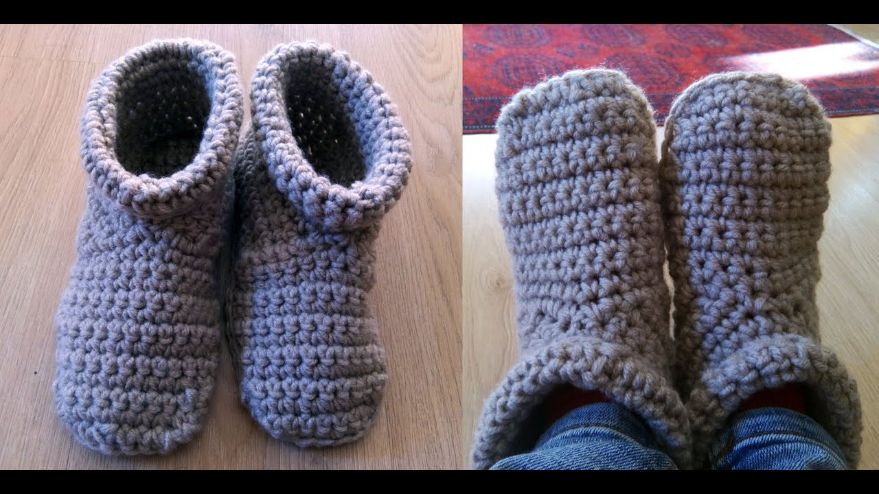 Youtube Crochet Elegant Crochet Slipper Boots Of Brilliant 46 Pictures Youtube Crochet