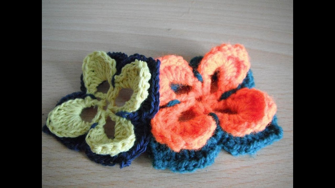 how to crochet motif Crochet Pattern tutorial lily flower