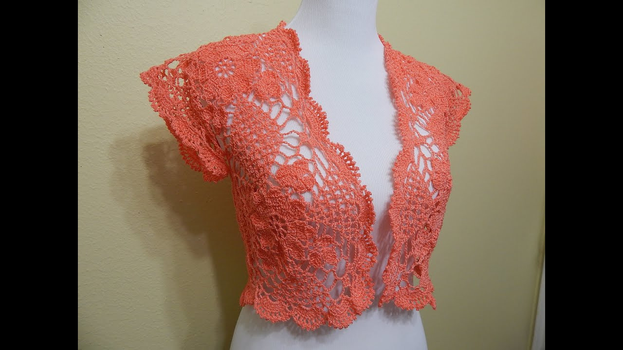 Youtube Crochet Lovely Bolero Crochet Primavera Parte 2 De 2 Of Brilliant 46 Pictures Youtube Crochet